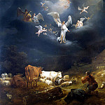 Burham, Nicholas Peters – Annunciation to the shepherds, Part 01 Hermitage