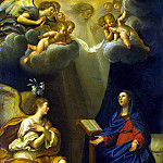 Albani, Francesco – Annunciation, Part 01 Hermitage