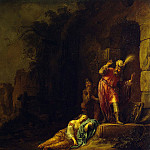 Part 01 Hermitage - Bartsius, Willem - The death of his wife Levita