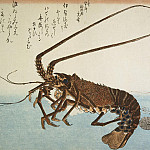Part 01 Hermitage - Ando Hiroshige - Sheet lobster and shrimp