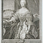 Part 01 Hermitage - Bernigerot, IM - Portrait of Johanna-Elizabeth, Duchess of Anhalt-Tserbskoy, mother of Catherine II