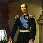 Angeli, Heinrich von – Portrait of Franz Joseph I, Part 01 Hermitage