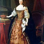 Part 01 Hermitage - Amaral Miguel Antonio do - Portrait of Marianna Victoria Queen of Portugal