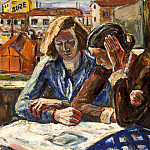 Amelin, Albin – Two Women at the window, Part 01 Hermitage