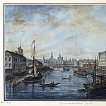 Part 01 Hermitage - Alekseev, Fedor - View of the Foundling Hospital