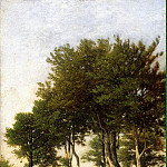 Part 01 Hermitage - Arpine, Henri - Landscape with two boys carrying a brushwood