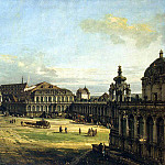 Bellotto, Bernardo – Zwinger in Dresden, Part 01 Hermitage