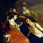 Granida and Dyfi, Jacob Adriaenszoon Backer