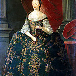 Part 01 Hermitage - Amaral Miguel Antonio do - Portrait of Maria Francisca, Princess of Brazil and Beyranskoy