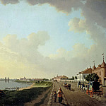Paterssen, Benjamin – View of outskirts of St. Petersburg at the porcelain factory, part 09 Hermitage