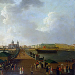 Paterssen, Benjamin – View of St. Petersburg on the day of the celebration of 100 anniversary of the city, part 09 Hermitage