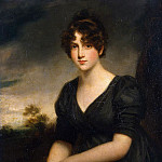 Portrait of Miss Frances Vinicombe, John Opie