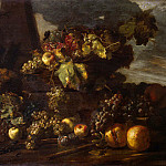 Pace, Michele – Still Life with Grapes, part 09 Hermitage