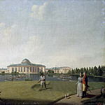 Paterssen, Benjamin – View of the Tauride Palace from the garden, part 09 Hermitage