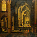 Neffs, Peter Younger – Interior of a Gothic church, part 09 Hermitage