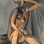 Picasso, Pablo – Naked Woman, part 09 Hermitage