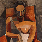 Picasso, Pablo – Woman with a fan of, part 09 Hermitage