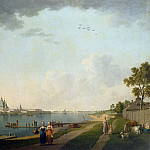 Paterssen, Benjamin – View Smolny Convent from Ohta, part 09 Hermitage
