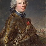 Nattier, Jean-Marc – Portrait of Pierre Victor de Beuzenwal, part 09 Hermitage