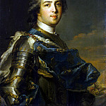 Nattier, Jean-Marc – Portrait of Louis XV, part 09 Hermitage