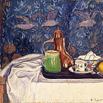 Still Life With Coffeepot, Camille Pissarro