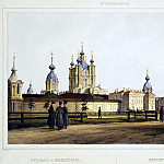 part 09 Hermitage - Perrot Ferdinand-Victor - View of the Smolny Convent