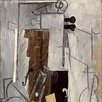 Picasso, Pablo – Clarinet and violin, part 09 Hermitage