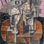 Picasso, Pablo – The table in the cafe, part 09 Hermitage
