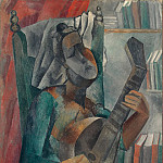 Picasso, Pablo – Woman with a Mandolin, part 09 Hermitage