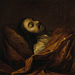 part 09 Hermitage - Nikitin, Ivan Nikitich - Portrait of Peter I on her deathbed