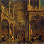 part 09 Hermitage - Neffs, Pieter the Younger Francken Frans III - Interior of the church of St. Charles Borromeo in Antwerp