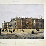 Perrot Ferdinand-Victor – View of the Winter Palace from the Admiralty, part 09 Hermitage