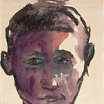 Nolde, Emil – Portrait of a Man, part 09 Hermitage