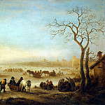 Ostade, Isaac van – Frozen Lake, part 09 Hermitage