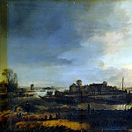 Ner, Art van der – Landscape with a Mill, part 09 Hermitage