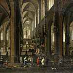 part 09 Hermitage - Neffs, Peter Younger Francken Frans III - Interior of Antwerp Cathedral