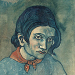 Picasso, Pablo – Head of a Woman, part 09 Hermitage