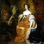 Netsher, Caspar – Portrait of Mary II Stuart, part 09 Hermitage