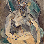 Young lady, Pablo Picasso