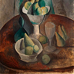 Vase with Fruit, Pablo Picasso