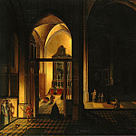 Neffs, Peter Senior – Interior of a Gothic church, part 09 Hermitage
