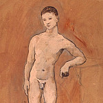 Picasso, Pablo – Nude figure of a young man, part 09 Hermitage