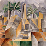 Brick Factory in Tortosa, Pablo Picasso