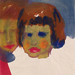 part 09 Hermitage - Nolde, Emil - Portrait of a young woman and child