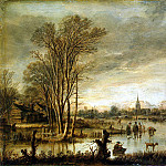 part 09 Hermitage - Ner, Art van der - Winter view of the river