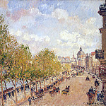 part 09 Hermitage - Pissarro, Camille - Quay Malake in sunny weather