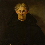 Pareja, Juan de – Portrait of a Monk, part 09 Hermitage