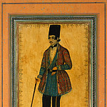 Mohammad Javad – Portrait of a man with a cane, part 09 Hermitage