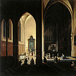 part 09 Hermitage - Neffs, Peter Senior - Interior of a Gothic church (2)