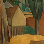Picasso, Pablo – House in the garden, part 09 Hermitage